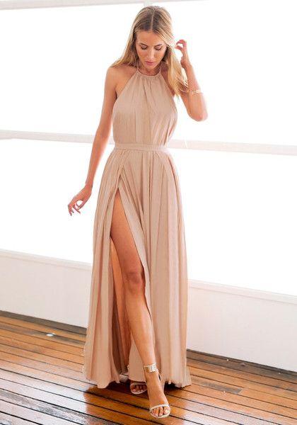 καλοκαιρινο μαξι φορεμα
