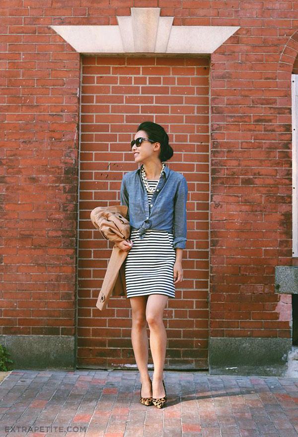 a862a617ead3 12 Ριγέ Φορέματα  Πώς να τα φορέσεις + Παπούτσια - Eli.gr