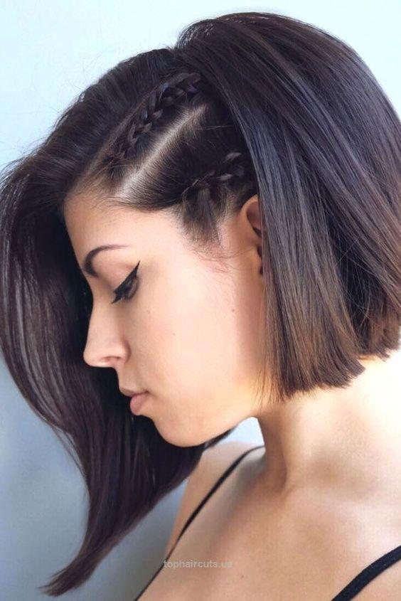 Υπάρχουν πολλά tutorials που θα σου δείξουν βήμα βήμα πως να κάνεις  πλεξούδα σε κοντά μαλλιά 7d98cea3be0