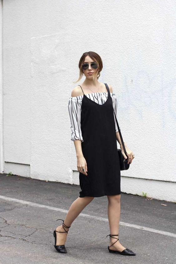 6d4021fea2b7 16 τρόποι να φορέσεις τα μαύρα φορέματα και το καλοκαίρι - Eli.gr